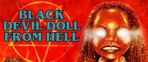 black doll from hell black doll from hell 1984 afro style communication