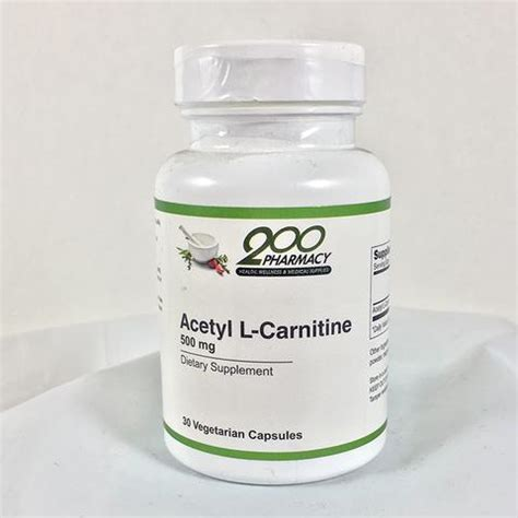 Acetyl L Carnitine And Detox by Products 200 Pharmacy Inc