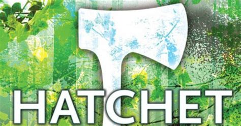 pictures of the book hatchet book review hatchet focuses on stranded