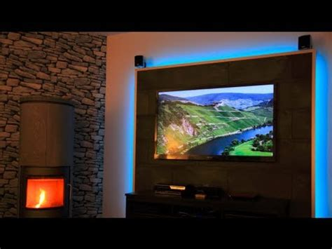 homegrow beleuchtung build a tv led wall