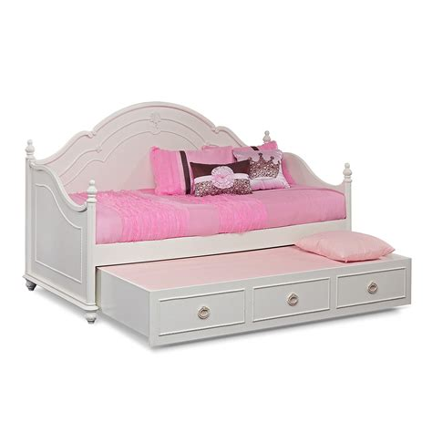 trundle bed for girls grace ii kids furniture daybed with trundle furniture