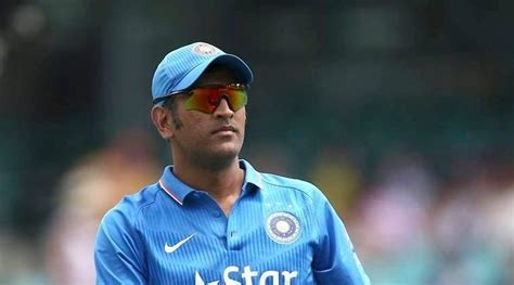 dhoni biography in english ms dhoni to captain men in blue again for one last time