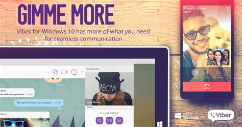 viber on mobile viber calls and more are now available on windows 10