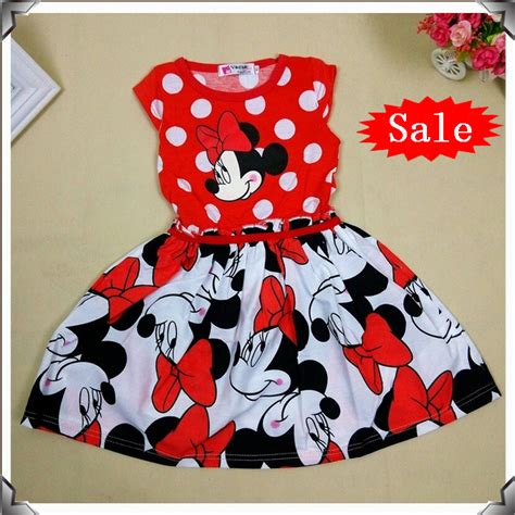 Dress Anak Import Mickey Mouse Kostum Mickey Minnie Dress Hitam Spots buy 2016 new casual polka dot princess dress summer