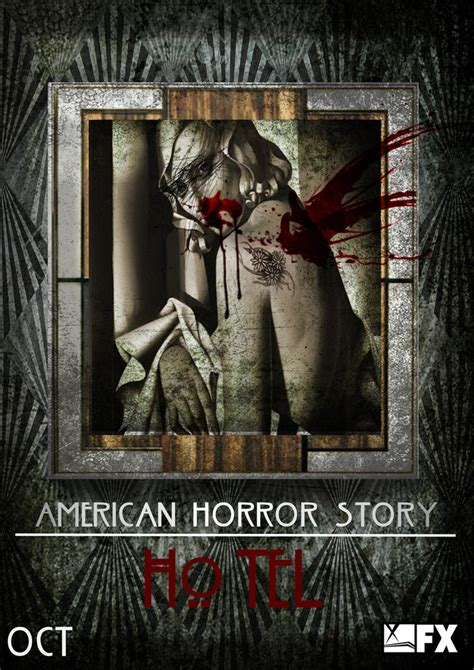 themes in american horror story hotel american horror story hotel no 6 portrait by