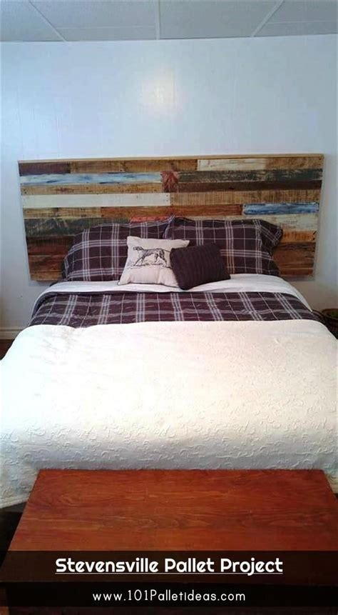 pallet headboard instructions 17 best ideas about queen pallet headboards on pinterest