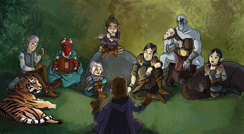 Bring Your Pens to Battle: Critical Role Fan Art Gallery