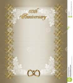 50th anniversary templates free wedding program border microsoft word studio design