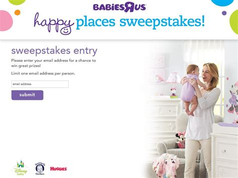 Babies R Us Sweepstakes - babies quot r quot us happy places sweepstakes