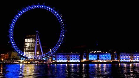 thames river at night london eye and river thames at night youtube