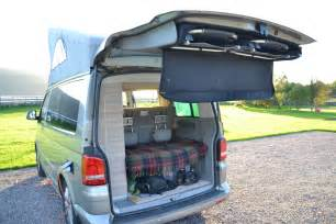 Folding Tailgate Table Vw California Where Do You Store Your Gear Wild