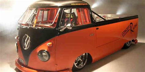 vw bug ute volkswagen kombi ute with a mad 250 horsepower