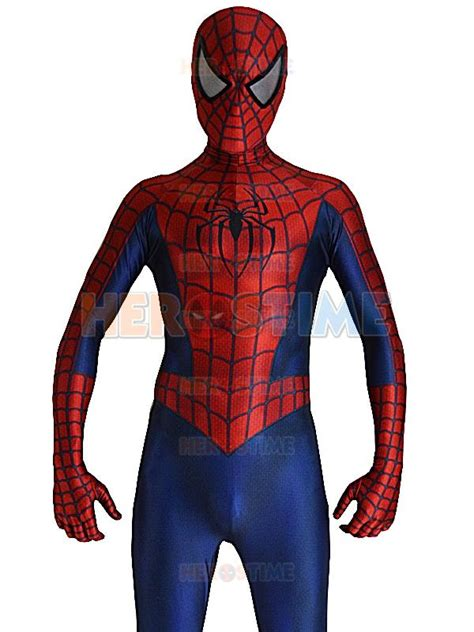 spider man raimi pattern 2016 raimi spiderman costume 3d printed spandex halloween