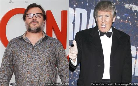 jack black hollywood star speech jack black blasts donald trump while receiving walk of