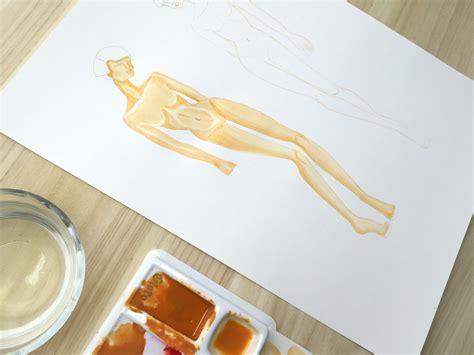 como pintar con acuarelas c 243 mo pintar figurines con acuarela la piel capa a capa