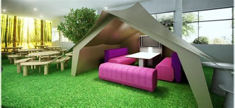 cool office space ideas cool office design ideas tent meeting area for informal