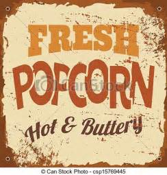 home design 3d gold francais eps vector of popcorn metal sign vintage style tin sign