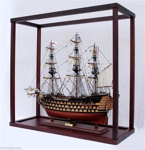 model boat glass cases display case for tall ship model nautical passion