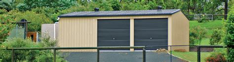 Shed Span by Steel Garages For Sale In New Zealand