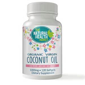 Coconut Powder Vitamin organic coconut 1000mg capsules cold pressed