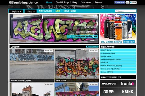 Top 10 Best Websites Out There by 10 Graffiti Websites Best News And More