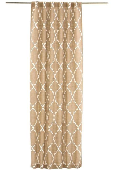 moroccan tile curtains moroccan tile burlap curtain panel mcintyre home pinterest