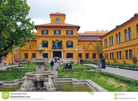lehnbach haus lenbachhaus garden in munich editorial image image 35616185