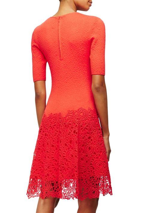 Lace Hem Knit Dress lace hem knit dress from toronto by la boutique