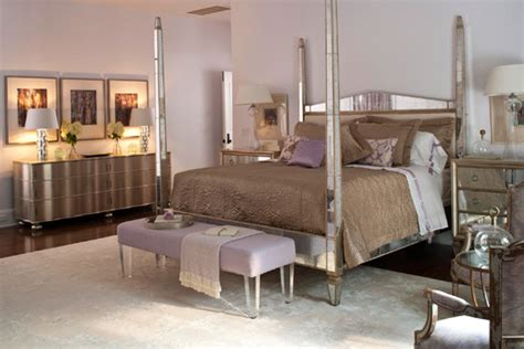 silver bedroom furniture in miami condo by montgomery roth bedroom ideas white polished wood mirrored bedroom