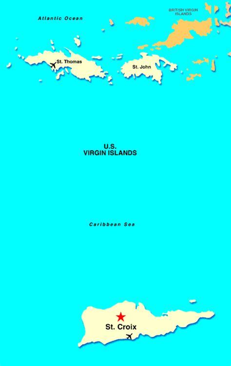 st croix map caribbean renaissance st croix carambola resort spa