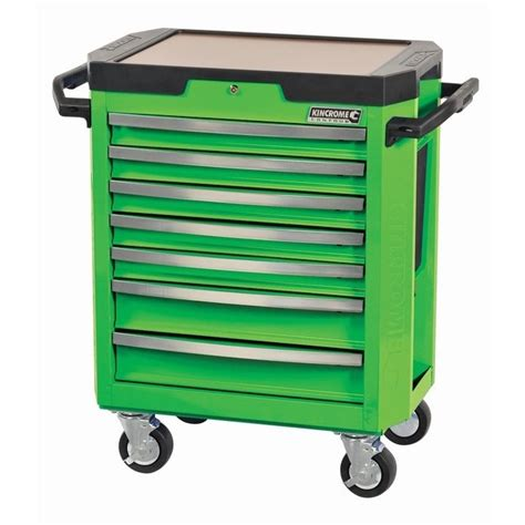 monster 4 drawer tool cart kincrome tool trolley contour 7 drawer monster green