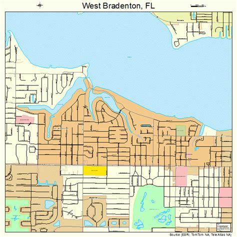 map of bradenton florida and surrounding area west bradenton florida map 1276050