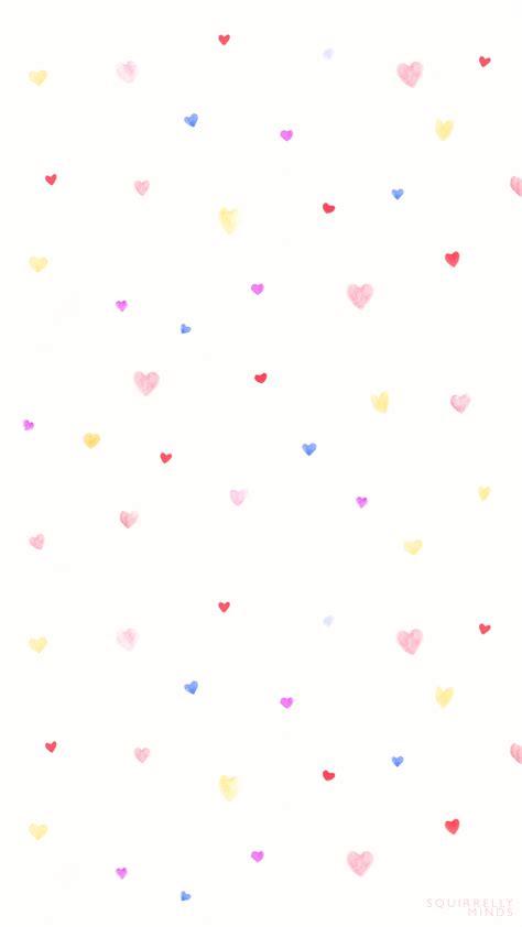wallpaper laptop coklat watercolor hearts valentine s day wallpaper downloads