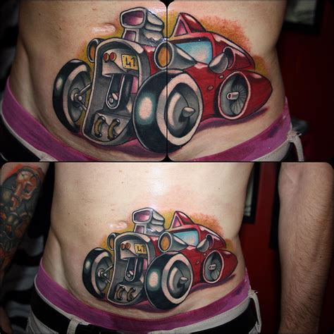tattoo new school designs racing car new school best ideas gallery
