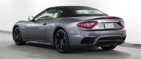 Maserati Gt Convertible by New 2018 Maserati Granturismo Convertible Gt Convertible