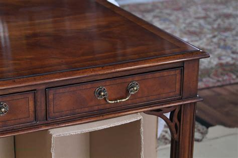 Mahogany Desk Traditional Mahogany Writing Desk For The Office Ebay