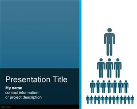 organization structure powerpoint template free download