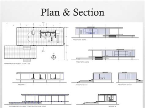 Farnsworth House Plan Farnsworth House Construction Details