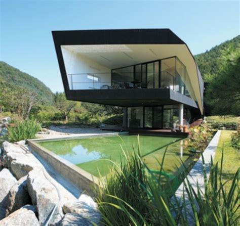Maison Bioclimatique Architecture by L Architecture Bioclimatique