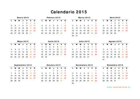 Calendario Agosto 2015 Para Imprimir Calendario 2015 Para Imprimir Gratis