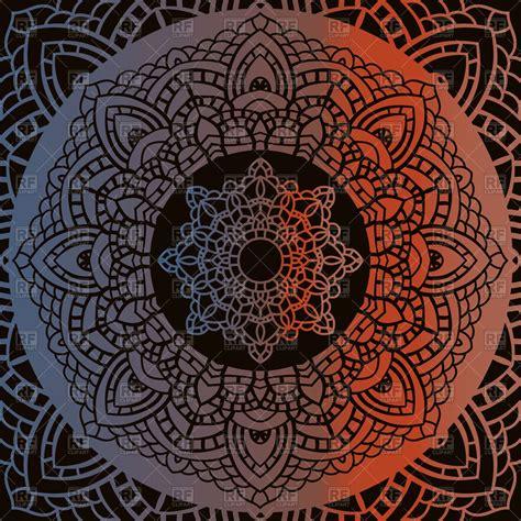 vintage ornamental pattern vintage mandala indian decorative pattern vector image