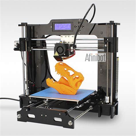 free 3d printer new brand afinibot a3 desktop 3d printer machine reprap prusa i3 lcd display acrylic impressora