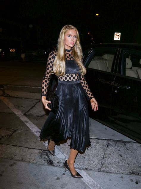 paris hilton  black dress paris hilton