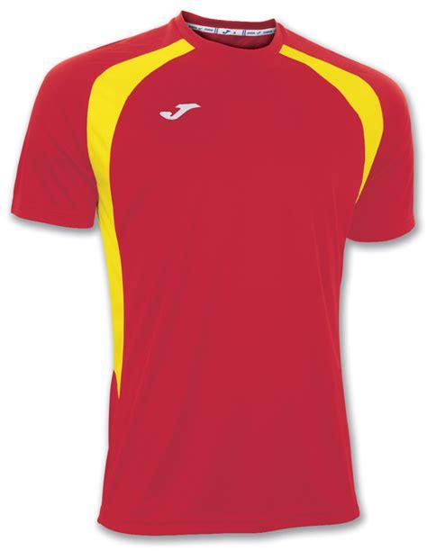 Tshirt Futbol Sala camiseta chion iii rojo amarillo m c joma