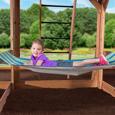 cedar view swing set oceanview wooden swing set playsets backyard discovery