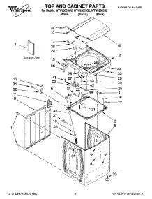 Bearing 6300 Wtw parts for whirlpool wtw6300sw2 washer appliancepartspros