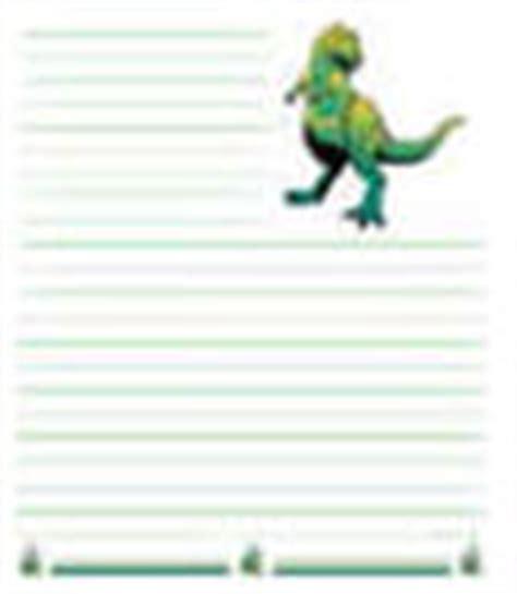 printable dinosaur writing paper dinosaur printables for children