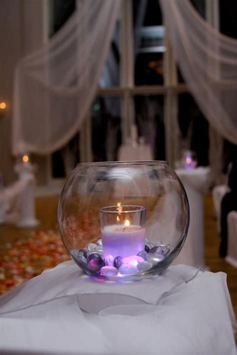 beautiful purple candles and wedding on pinterest