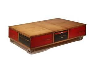 table basse sur avec box