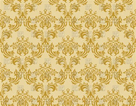 pattern of gold gold damask patterns